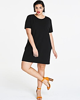 Side Pocket Shift Dress