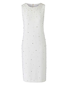 Joanna Hope Bead Trim Dress