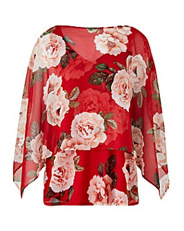 Joanna Hope Print Multi-Way Blouse