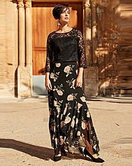Joanna Hope Print Maxi Skirt