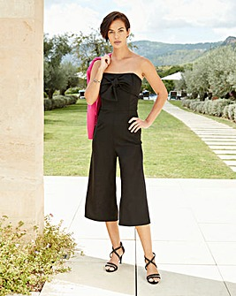 Joanna Hope Bow Detail Jumpsuit