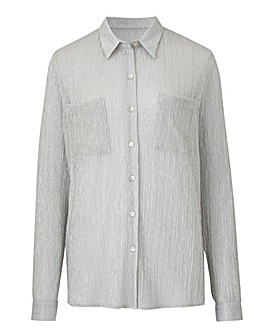 Joanna Hope Metallic Shirt