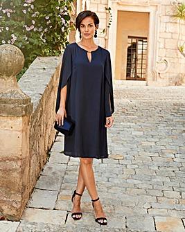 Joanna Hope Tulip Sleeve Dress