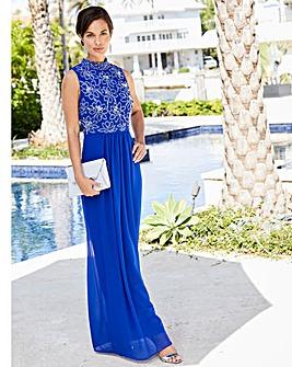 Joanna Hope Sequin Bodice Maxi Dress