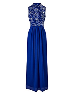 Joanna Hope Sequin Bodice Maxi Dress