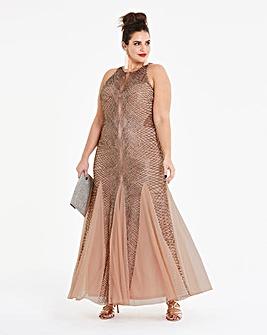Simply Be Beaded Maxi Dress