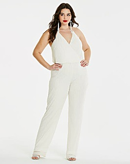 Simply Be Beaded Jumpsuit
