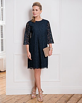 Together Lace Shift Dress