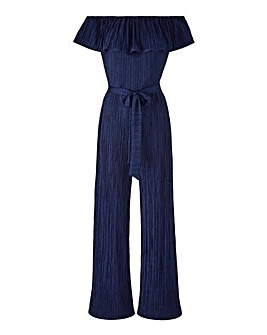 Joanna Hope Plisse Jumpsuit