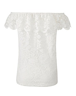Joanna Hope Lace Gypsy Top