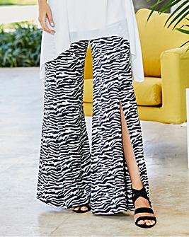 Joanna Hope Print Wide Leg Trousers