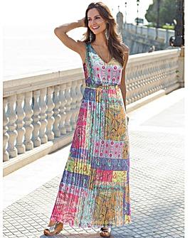 Together Unique Print Maxi Dress