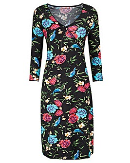 Joe Browns Jersey Bird Print Dress
