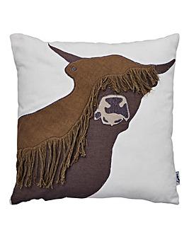 Lorraine Kelly Highland Cow Cushion