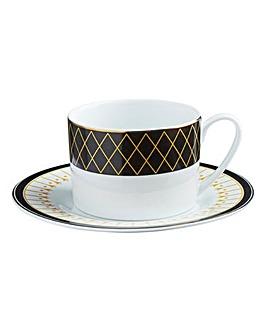 Portmeirion Set of 2 Teacup & Saucer