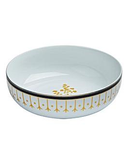 Portmeirion Modern Metallic Serving Bowl