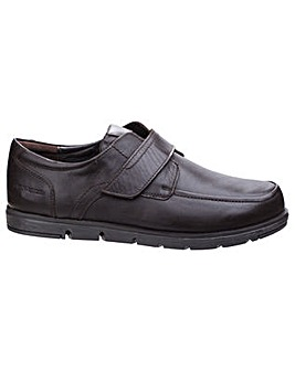 Hush Puppies Novo Leather Velcro Shoe