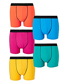 Capsule Bright Pack of 5 Hipsters