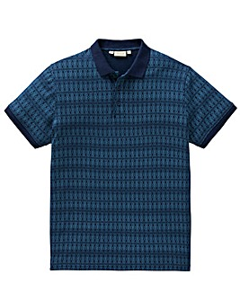 W&B Blue Printed Polo R
