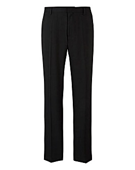 W&B London Black Stretch Trousers