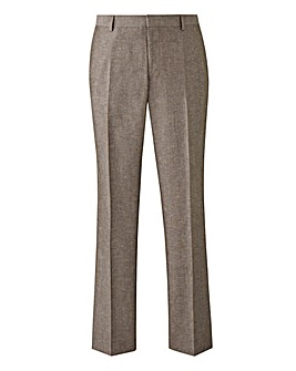 W&B London Oatmeal LinenTrousers 31in