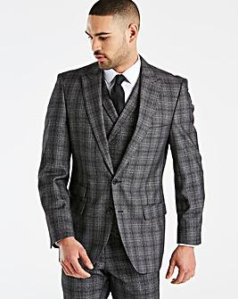 W&B London Charc Check Suit Jacket R
