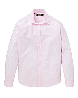 W&B London Pink Stripe L/S Shirt R