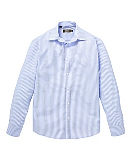 W&B London Blue Stripe L/S Shirt R