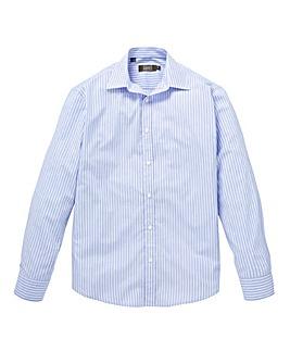 W&B London Blue Stripe L/S Shirt R