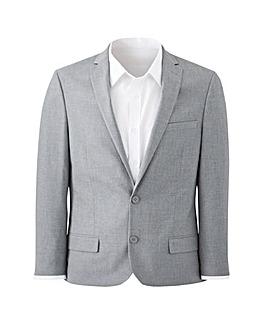 W&B London Grey Stretch Suit Jacket R