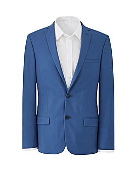 W&B London Blue Slim Suit Jacket R