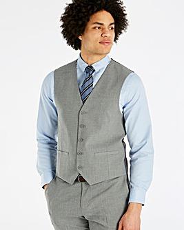 W&B London Grey Stretch Waistcoat R