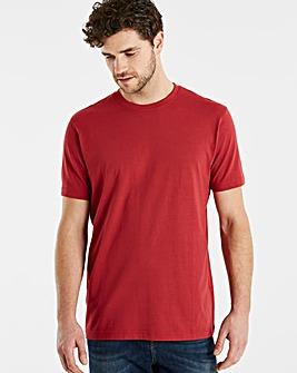 Capsule Burgundy Crew Neck T-shirt L
