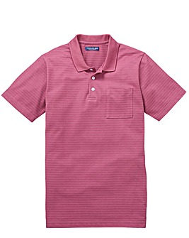 Premier Man Purple Pocket Polo R