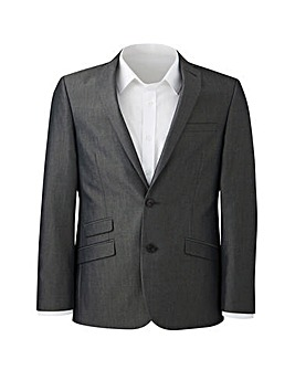 W&B London Charcoal Tonic Suit Jacket