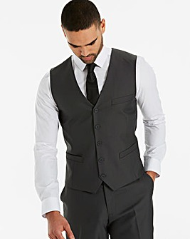W&B London Grey Value Suit Waistcoat