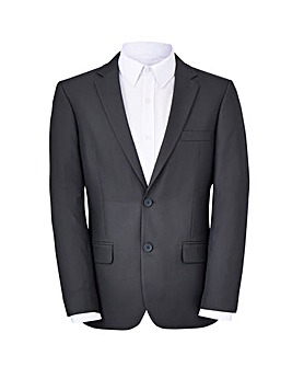 W&B LONDON Grey Slim Value Suit Jacket R