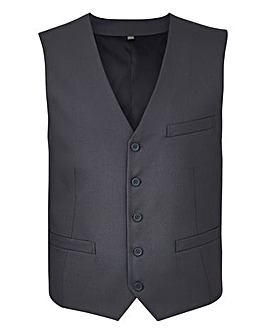 W&B London Grey Slim Value Waistcoat R