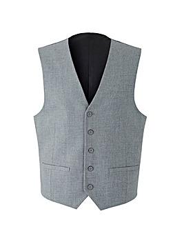 W&B London Grey Polywool Waistcoat R