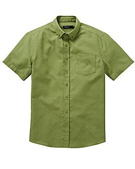 Capsule Khaki S/S Oxford Shirt L