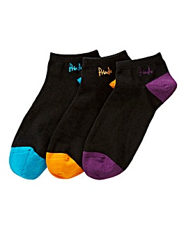 Pringle Pack of 3 Trainer Socks