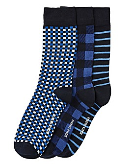 Ben Sherman Pack of 3 Socks
