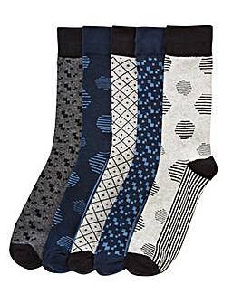 Jack & Jones Pack 5 Design Socks