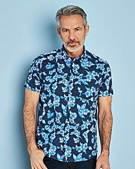Capsule Blue S/S Printed Shirt R