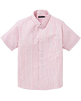 Capsule Pink Stripe S/S Oxford Shirt R