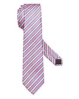 Capsule Pink Stripe Tie