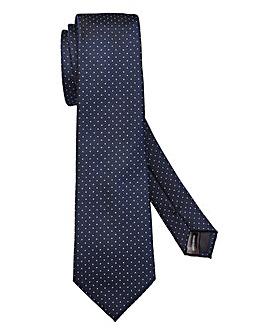Capsule Navy Polka Dot Tie