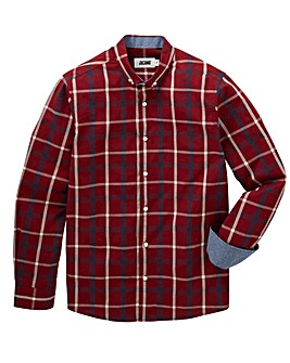 Jacamo Mast L/S Check Shirt Long