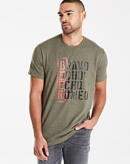 Jacamo Nectar Graphic T-Shirt Regular