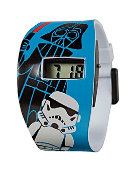 SW DARTH/TROOPER LCD AOP WATCH